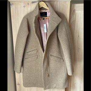 NWT J. Crew Cocoon coat